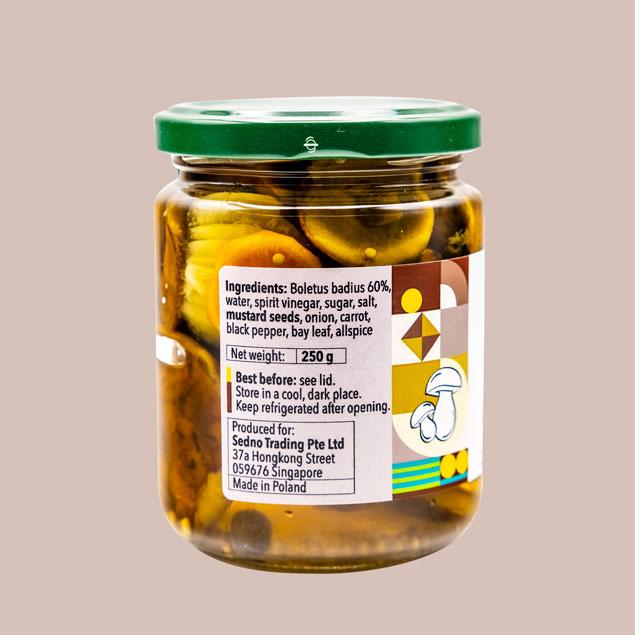 Boletus-ingredients