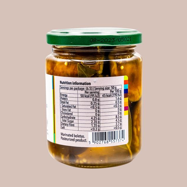 Boletus-nutrition