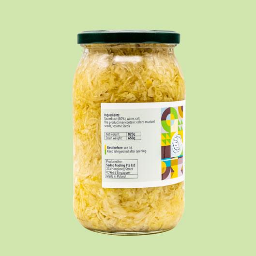 Sauerkraut-ingredients
