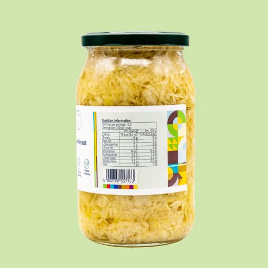 Sauerkraut-nutrition