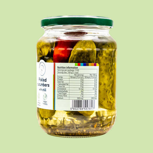 pickled-cucumbers-chilli-nutrition